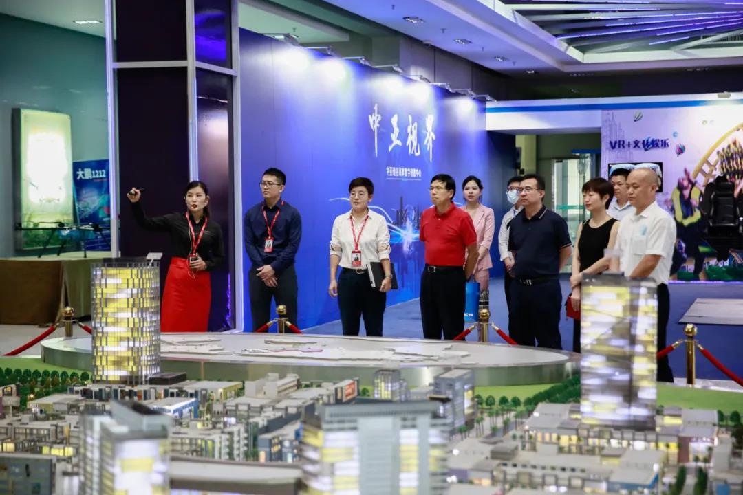 深化合作,共谋发展丨中集产城发展集团领导一行莅临中亚硅谷产业基地参观考察(图1)