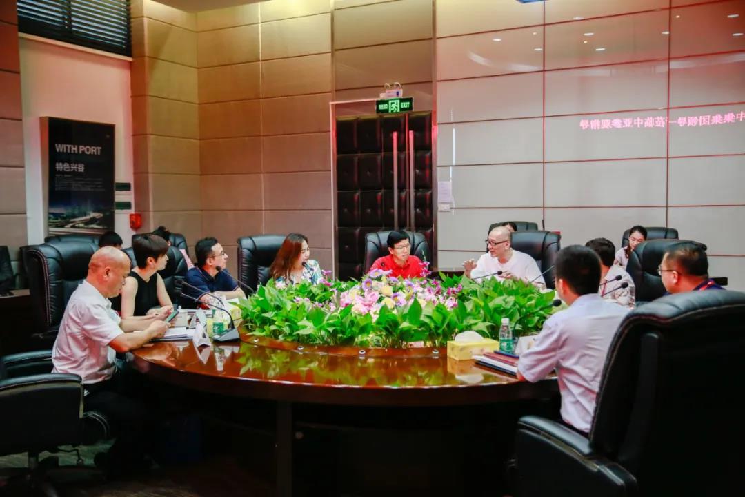 深化合作,共谋发展丨中集产城发展集团领导一行莅临中亚硅谷产业基地参观考察(图4)